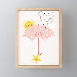 RAINBOW FRIENDS Framed Mini Art Print