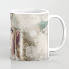 Epic Princess Zelda from Legend of Zelda Painting Coffee Mug