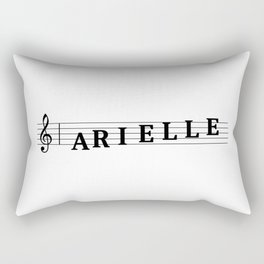 Name Arielle Rectangular Pillow