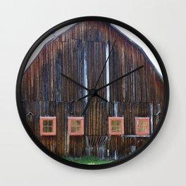 Big Ole Barn Wall Clock