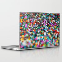 confetti Laptop & iPad Skins featuring Confetti by Laura Ruth