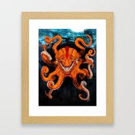 Croctopus Framed Art Print