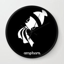 Aquarius ~ Amphora ~ Zodiac series Wall Clock