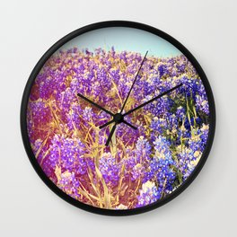 Bluebonnets! Wall Clock