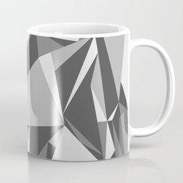 Black and White Triangle Coffee Mug