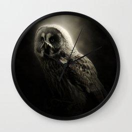 in the dark Wall Clock