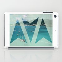 boats iPad Cases featuring Boats by Ria*