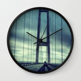 Great Belt Bridge Wall Clock