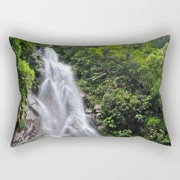 Peruvian Waterfall IV Rectangular Pillow