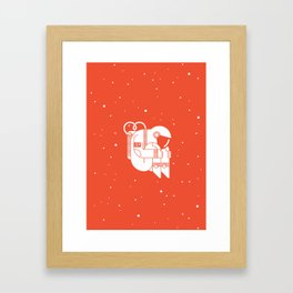 The Cosmonaut Framed Art Print