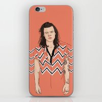 coconutwishes iPhone & iPod Skins featuring Harry Chevron  by Coconut Wishes