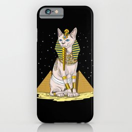 Egyptian Sphynx Cat Goddess Bastet iPhone Case