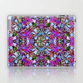 Multicolored Abstract Collage Pattern Laptop & iPad Skin