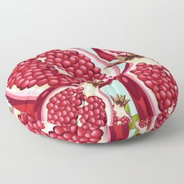 Pomegranate 2 Floor Pillow