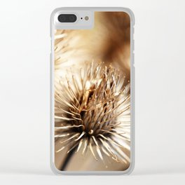 Barnacles Clear iPhone Case