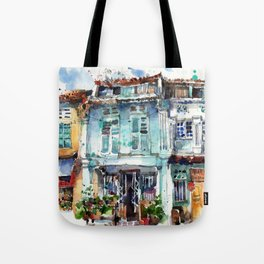 Clive Street, Little India, Singapore Tote Bag