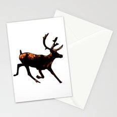 The Mighty Moose Mongoose Reindeer Elk Rentier Caribou Stationery Cards