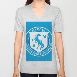 Naples Horse Football badge Unisex V-Neck