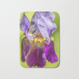 Purple Iris 2018 Bath Mat