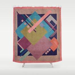 Geometric illustration 30 Shower Curtain