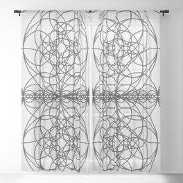 Circle Splendor 7 Sheer Curtain