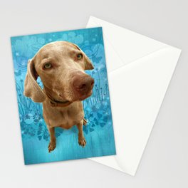 PARKER POSEY (sky) puffy cloud series Stationery Cards