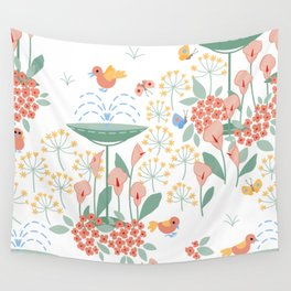 The Secret Garden Wall Tapestry