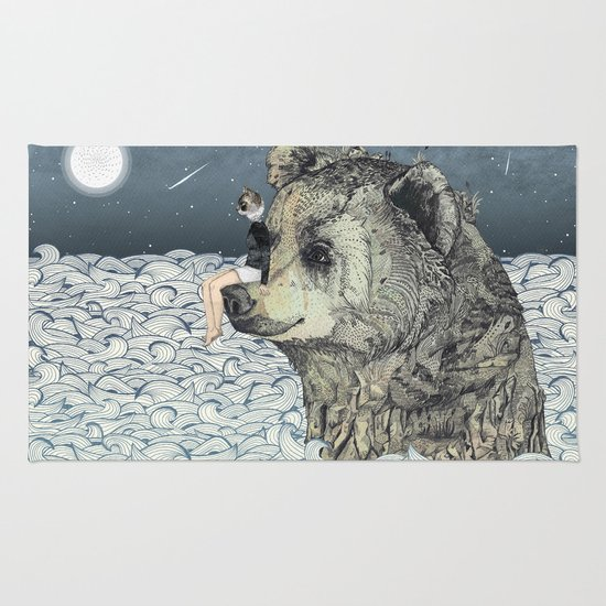 Bear Rock Rug