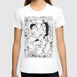 Dancing Forever - b&w T-shirt