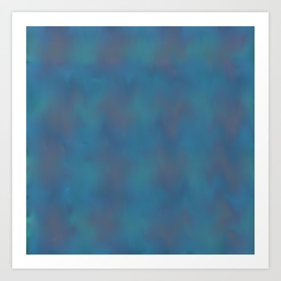 Soft Blue Art Print
