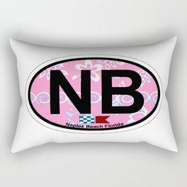 Naples Beach - Florida. Rectangular Pillow