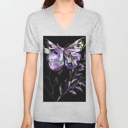 A Butterfly Of The Rainbow Unisex V-Neck