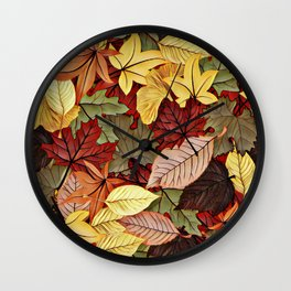 Down Side of Summer Wall Clock