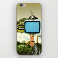 Waiting for Magritte iPhone & iPod Skin