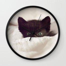Zeze kitten Wall Clock