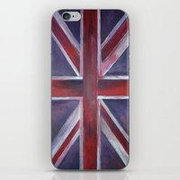 british iPhone & iPod Skins featuring British by Magdalena Hristova