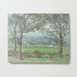 Near Sydenham Hill by Camille Pissarro Metal Print