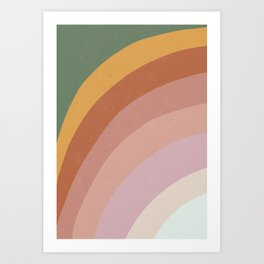 Abstract No.5 Art Print
