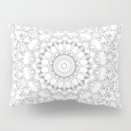 Cat Mandala Doodle Pillow Sham