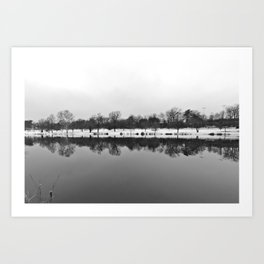 Forest Park Reflections III Art Print