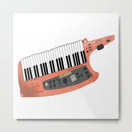 How Cool Can A Keytar Get? Metal Print