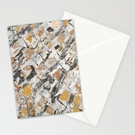 The golden windows Stationery Cards
