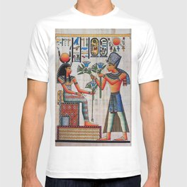 Isis On Papyrus T-shirt