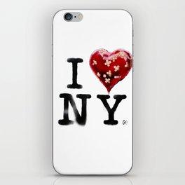 Banksy * I Love New York iPhone Skin