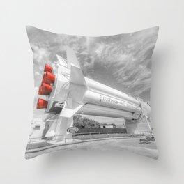 Saturn One B Throw Pillow