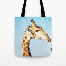 Portrait of a Giraffe Tote Bag
