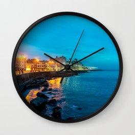 La Vida Nocturna Wall Clock
