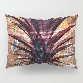 Copper Leaf Pineapple Art #buyart Pillow Sham