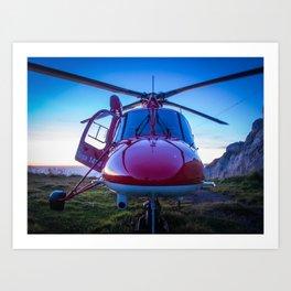 Air Rescue Art Print