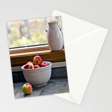 Apples in a Bowl Stationery Cards